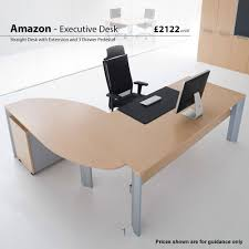 Desk Modern by Amazon Veneer Executive Desks Modern Desks Office Desks