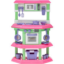 Kids Plastic Play Kitchen by American Plastic Toys My Very Own Sweet Treat Kitchen Kitchens