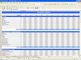 monthly expenses spreadsheet template excel pccatlantic
