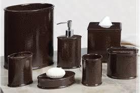 Bathroom Waste Basket by Black Color Marble Bathroom Wastebasket Sets Furniture Ideas