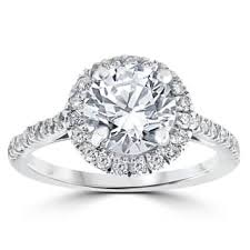 2 carat white gold engagement ring 2 to 2 5 carats engagement rings shop the best deals for nov