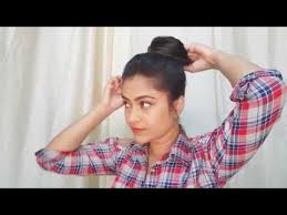 hairstyles for oily black hair 1 min top messy bun for oily hair for summers indian hairstyles for