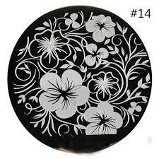 nail art stamping plates flowers stamp plate nail image plate