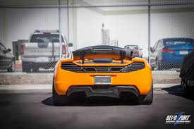 orange mclaren rear mclaren product by revozport