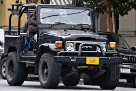toyota jeep black view of toyota land cruiser 40 photos video features and tuning