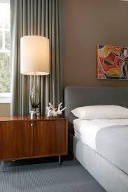 modern grey bedroom midcentury bedroom new orleans by