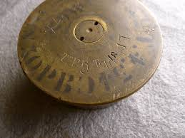 french 75mm french wwi 75mm canon shell any wwi ordnance inscription experts
