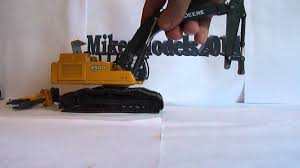 for sale 1 50 deere 450dlc excavator with attachments youtube