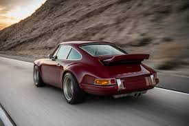1990 porsche 911 red singer design two porsche 911s commissioned