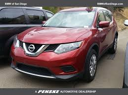 lexus of san diego service 2016 used nissan rogue awd 4dr s at bmw of san diego serving san