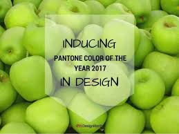 greenery pantone color of the year 2017 imbued in design