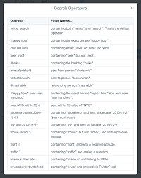 search twitter advanced search a complete guide to searching twitter