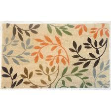 Coco Doormat Beige 18 In X 30 In Coir And Vinyl Door Mat 20815 1 The Home Depot