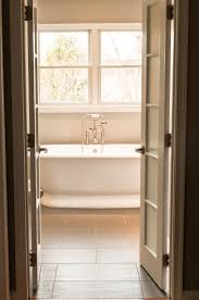 glass door in bathroom peek a boo doors someday home pinterest bathroom doors
