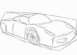 ferrari enzo sketch como desenhar uma ferrari enzo ranima art