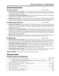 Job Description In Resume by Civil Engineer Resume Steve Newman