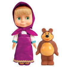 masha bear masha doll russian speaking doll
