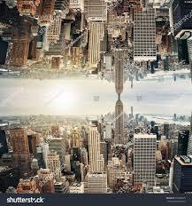 new york city midtown panorama inception stock photo 370298675