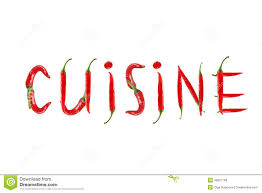 word for cuisine chili pepper isolated word cuisine stock photo image of