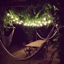 String Outdoor Patio Lights by Easy Outdoor Lighting Going Home To Roost