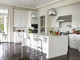 Unique Interior Lighting Setting Design Own Kitchen Contemporary Ideas With White Bar Island