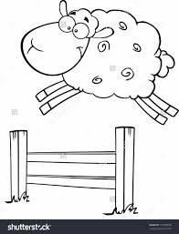 pages and farm farm fence clipart black and white animals coloring