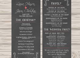 wedding program chalkboard 34 design etsy wedding program template marvelous garcinia