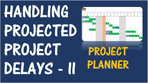 excel template project planner project planner excel template handling projected delays part project planner excel template handling projected delays part 2