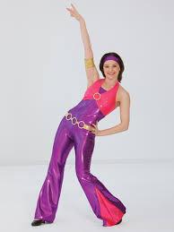 Disco Dancer Halloween Costume Disco Inferno Revolution Dancewear Character Dance Recital
