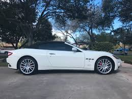 maserati granturismo white black rims 2013 maserati granturismo gt convertible for sale in corpus