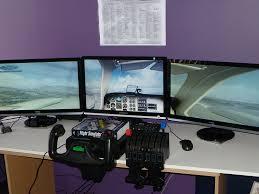 Flight Sim Desk The Latest In Flight Simulation Introducing Saitek Tech