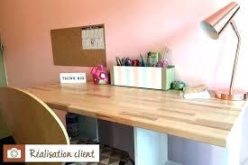 construire bureau bois pour bureau bureau sign o mara max 4 plateau bois massif pour