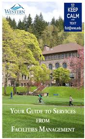 Western Washington University Campus Map by Facilities Management U2013