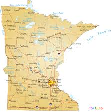 Map With Labels Minnesota Map Blank Political Minnesota Map With Cities