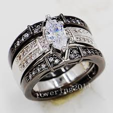 marquise cut wedding set wedding rings gold marquise wedding sets jared