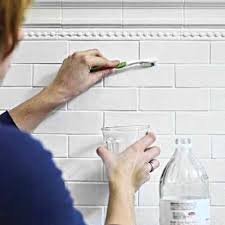 Cleaning Grout With Vinegar How To Whiten Tile Grout Use Vinegar And A Toothbrush And Sit