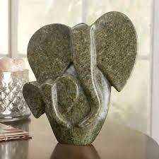 Zimbabwe Soapstone Carvings African Shona Elephant Sculpture National Geographic Store