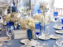 blue and silver wedding wedding reception decorations blue and silver navy blue wedding