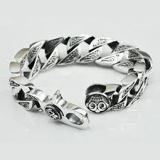 bracelet silver mens images Men 39 s sterling silver bold curb chain bracelet jpg