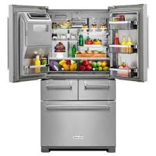 home depot black friday kitchenaid refrigerators sale kitchenaid 25 8 cu ft french door refrigerator in stainless