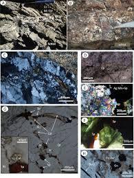bureau avec ag e int r the koudia el hamra ag pb zn deposit jebilet morocco mineralogy