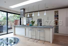 Kitchen Pendant Lighting Uk Rs016 02 White Fitted Kitchen Extension With Pendant Narratives