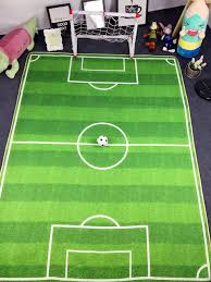 Outdoor Turf Rug by Rug Cool Print Green Football Field Rug For Kids Sport Ideas