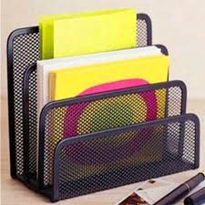 Desk Tidy Set Metal Office Mesh Bin U0026 Desk Organiser Set Stationery Tidy Letter