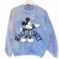 vintage 90s walt disney world mickey mouse acid wash