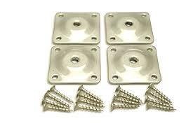 table leg mounting hardware sofa leg plates set of 4 industrial strength galvanized steel sofa