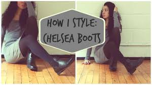 womens boots to wear with dresses how i style chelsea boots
