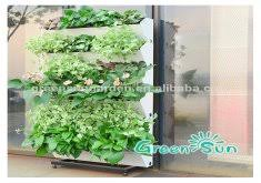 attractive garden wall planters plastic alibaba china planting