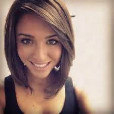 lob hair with side fringe inverted lob with side bangs bing images hair ideas