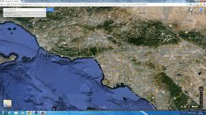 Maps Google Com Los Angeles by Los Angeles California Map